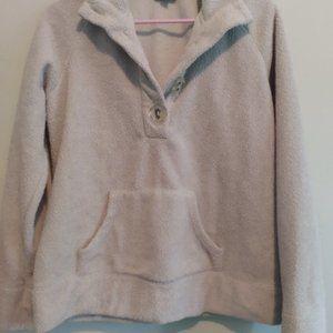 Cotton Ginny grey sweater, size large.